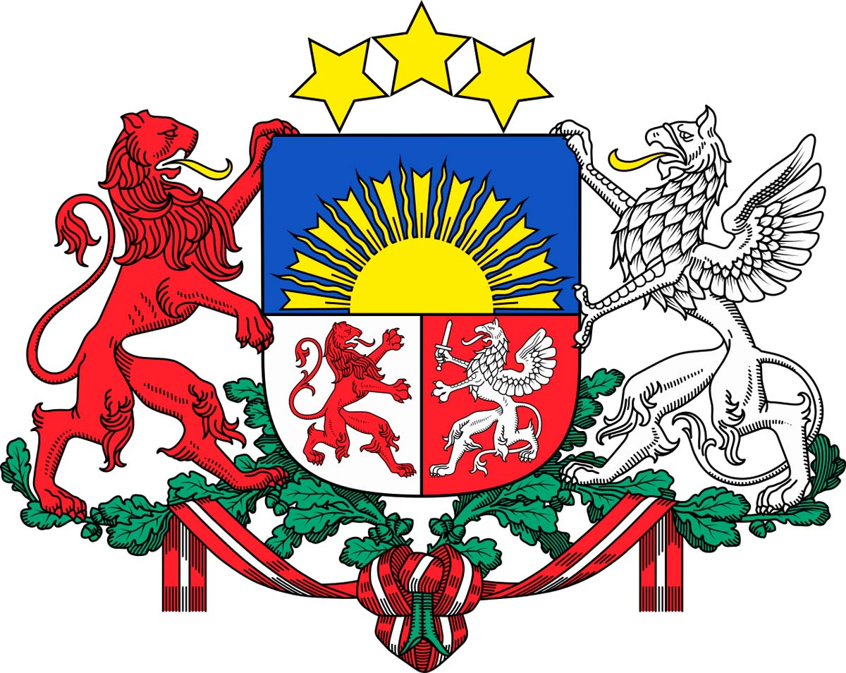 Coat of arms of Latvia
